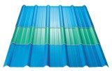 Cor e preço ondulado plástico usado transparente da folha do telhado