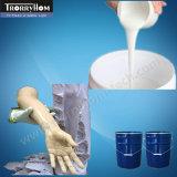 Auslaufender Silikon-Gummi für Lifecasting Gesichts-Bein-Brust-Ohr