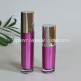 化粧品(PPC-NEW-094)のためのローションポンプを搭載する15/50ml紫色のアクリルのびん