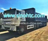 Reboque da descarga do cilindro hidráulico de três eixos, reboque traseiro do caminhão de descarregador