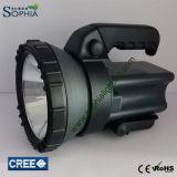 Linterna portable del poder más elevado Rechargeable10W LED con el rango largo de los 500m
