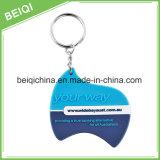 Keychain de PVC macio 3D personalizado / chaveiro de silicone