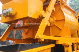Capacidade do funil da manufatura 800L da polia para a vila, estrada, bomba concreta do reboque da construção do túnel da ponte com misturador