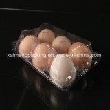 2017 bandejas plásticas de venda quentes do ovo de Chicken&Hen para o pacote de 4 pilhas (bandeja plástica do ovo de galinha)