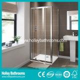 Porte en aluminium de première qualité de patio de charnière avec le verre feuilleté Tempered (SE918C)