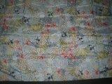 Afgedrukte Zijde Habotai in het Complexe Patroon van de Bloem