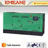 генератор звукоизоляционной силы 80kVA Weifang электрический тепловозный