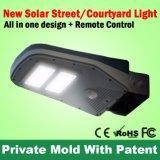 Straßenlaterne-Hersteller des Lithium-batteriebetriebenen besten Preis-Solar-LED