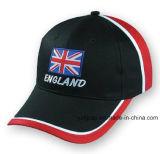 Бейсбольная кепка спортов изготовленный на заказ хлопка Burshed бейсбольной кепки выдвиженческая