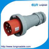 Plot industriel industriel 5p 63A/125A de fiche et de plot IP67