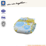 100% en coton jetable en couche PE couche de bébé avec bande PP
