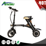 """trotinette"" elétrico dobrado da bicicleta elétrica do ""trotinette"" de 36V 250W motocicleta elétrica"