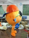 Traje de la mascota del Anaranjado-Carácter modificado para requisitos particulares para el desgaste