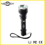 Het LEIDENE CREE xp-e Schokbestendige Navulbare Flitslicht van het Aluminium (nk-09)