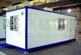 De glasvezel prefabriceerde het Mobiele Huis van de Container in Woestijn