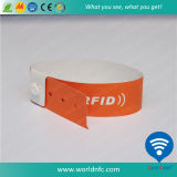 RFID Papel PVC 915MHz Alien H3 descartable Wristband
