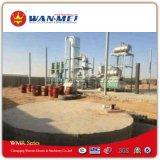 Système de reprise de pétrole de rebut par la distillation sous vide