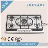 Построено в плитах горелки Hob газа для китайского оборудования кухни