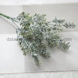 Las hojas de plástico Componentes flor artificial para la decoración (SF16925A)