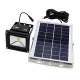 Yarda al aire libre del jardín que enciende la luz solar de movimiento del sensor LED de la seguridad ultra brillante solar 5W del reflector