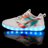 2016 LEIDENE van de nieuwe LEIDENE USB het Lichte Lichtgevende Tennisschoen van Schoenen Licht van de Schoen
