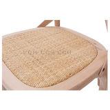 Cadeira de madeira da melhor parte traseira francesa popular da cruz do restaurante do estilo