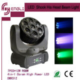 Stage Disco (HL-010BM)를 위한 7PCS*12W LED 4in1 Moving Head