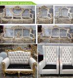 Sofa (XYM-S05)上品なヨーロッパの二重シートのホテルのレストランの居間王