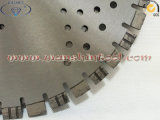 ターボダイヤモンドはコンクリートについては20mmの長さセグメントの鋸歯を