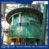 Maquinaria da planta de extração de solvente de soja.
