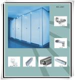 Partition en aluminium ignifuge de toilette de résine phénolique de mode