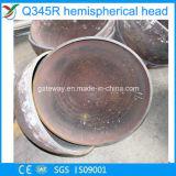 Protezioni servite del tubo del tubo della testa di emisfero con Q345r