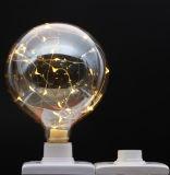 새로운 디자인 훈장을%s 백색 지구 LED 별 전구 점화