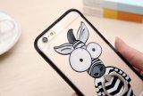 رخيصة جذّابة فيل عتابي حيوان شكّل هاتف حالات لأنّ [إيفون] [6س] فعليّة [تبو] حالة مع حلقة حامل