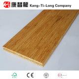 Suelo de bambú del entarimado del bosque de Eco con color carbonizado
