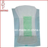 Productos para el Cuidado de la señora, del anión de la viruta de alta absorción de la servilleta sanitaria, Mujeres Toallas sanitarias desechables