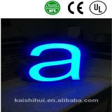 스테인리스 Arylic 점화 LED 표시 편지