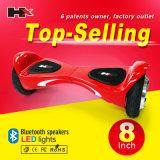 Hxは6.5インチの卸売安く2つの車輪Foldable電気スクーターの製造者を立てる