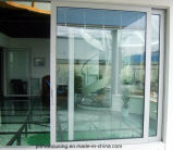 Porte coulissante en aluminium, porte en verre en aluminium