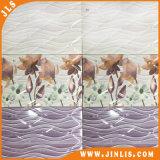 Do banheiro roxo da flor da impressão 3D do material de construção telha cerâmica da parede