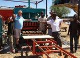 Блок /Concrete кирпичей цемента делая машины Qt5-20