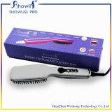 Melhor Straightener por atacado do cabelo do preço com a escova elétrica cerâmica do Straightener do cabelo do indicador do LCD