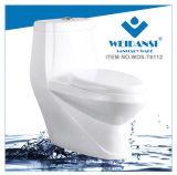 Weidansi en céramique lavent vers le bas la toilette d'une seule pièce de courroie (WDS-T6112)