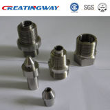 O CNC fêz à máquina as peças de alumínio anodizadas