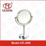 Espejo de maquillaje Espejo de baño de la batería Tabla LED usada