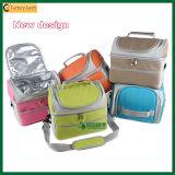 Bolsos más frescos aislados color diverso de dos pisos popular (TP-CB373)