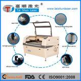 Hölzerne Modell-Laser-Gravierfräsmaschine mit Glasgefäß 80W