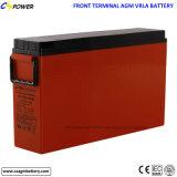 передняя терминальная батарея Manufucturer телекоммуникаций 12V55ah в Китае