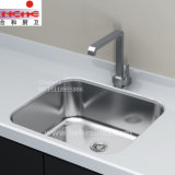Único dissipador do aço inoxidável da bacia, dissipador de cozinha, dissipador da lavagem (5945)
