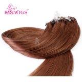 Do cabelo quente do anel de Mirco das vendas das perucas do K.S extensão fácil do cabelo da queratina do anel